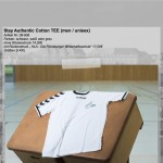 HLA Fashion Stay Authentic Cotton Tee